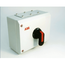 125Amp 4P enclosed ABB switch disconnector H400mm W300mm D150mm